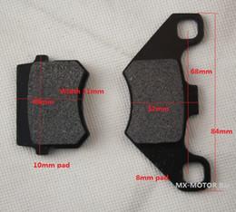 Wholesale Brake pads for rear disc brake of ATV Quads