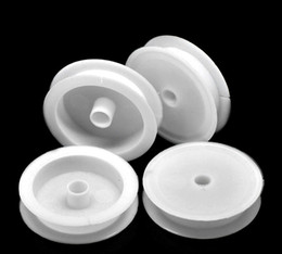"Wholesale-20PCs Empty Plastic Spools for Beading Wire Thread String 7cm(2 6 8"") Dia."