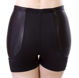 Wholesale-Fixed Padded Fake Hip Panties Bum Butt Enhancing Underwear Boyshorts Traceless Anti Knickers Free Shipping