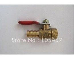 Wholesale 20pcs quot BSP Threaded Female x mm Hose Barb Air Brass Ball Valve directly from manufacturer order lt no track