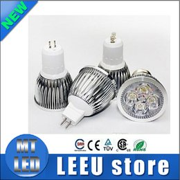 Wholesale High power CREE Led Lamp W W W W W W W Dimmable GU10 MR16 E27 E14 GU5 B22 Led Light Spotlight led bulb downlight lamps