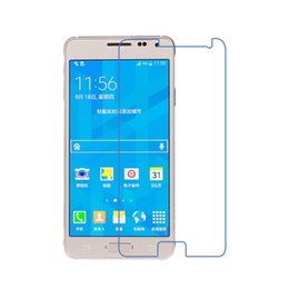 Wholesale-Scolour New 5pcs Screen Protector Guard Cover Film Shield For Samsung Galaxy Alpha Free shipping&Wholesale