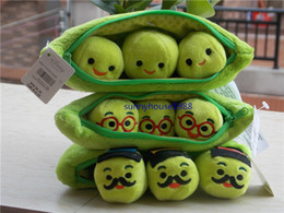 Wholesale 3 Different Sylts Toy Story Bean Bag Peas in a Pod Plush Stuffed Toy quot cm New