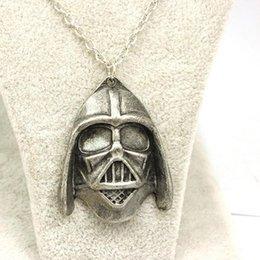 Promotion l'action de guerre Gros-guerres gratuites expédition Star star Mort inspiré Collier L'Empire Darth Vader Collier