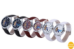 New arrival men Fashion sports Brand Quartz Wristwatches Casual leather Watches