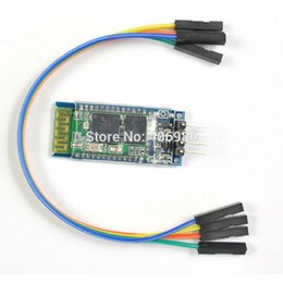 Wholesale Wireless Serial Pin RF Transceiver Bluetooth Module HC RS232 with Cable V V for Arduino UNO