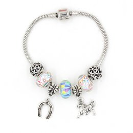 Free Shipping Good Quality DIY European Bead Charms Jewelry Horse Charms European Charms Bracelets for Women