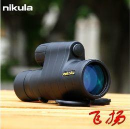 Nikula 8x42 en Línea-Al por mayor-Nikula telescopio monocular de visión nocturna por infrarrojos hd 8x42 está volando