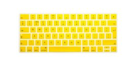 Wholesale-New EU UK Version English alphabet Silicone Keyboard Cover Protector Skin for Apple New Magic Keyboard 2 MLA22B A release 2015