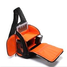 Wholesale 2015 Hot Sale Camera Backpack Bag Waterproof DSLR Case Sling Flipside Digital Camera d3200 d3100 d5200 d7100 Bag Chest Chest As Gift Green