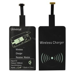 Wholesale Qi Wireless Charging Receiver Universal Qi Wireless Module Adapter for Micro USB of All Android Mobile Phones