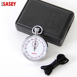 Brand SASEY Mechanical stopwatch for sport Professional SXJ504 count timer second Accurate Stop watch Free shipping