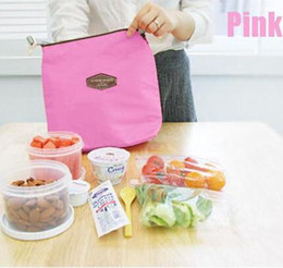 Wholesale 10 BBA4096 Travel Outdoor Lunch Bag Picnic Tote Container Cooler Insulated Thermal Waterproof Organizer Dinnerware Tool travel Bag Handbag