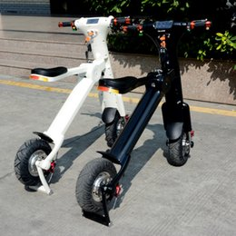 Wholesale Newest style product folding electric scooter electric bikes pedelec with lithium battery new life style for peop e