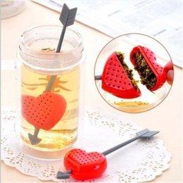 Wholesale Creative Hot Fashion Sweet Heart Shape Valentine Best Gift Tea Filter Infuser Teapot