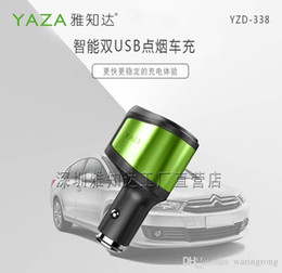 YZD338,mobile chargers, cigarette lighter, Cigarette dispenser, 3in1 lighter,Input12-24v Output: 5V 3.1A Double USB output