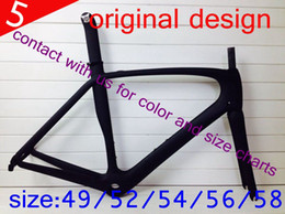 Wholesale light weight full carbon bike road frame framest mechanical di2 original model design