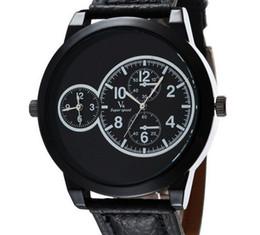 Hommes robe gros de montre en Ligne-Vente en gros V6 Mode Rétro simplicité Quartz Hommes Montre sport Montre Dropship Silicone Horloge Mode Hours Robe Montre CADEAU DE NOËL
