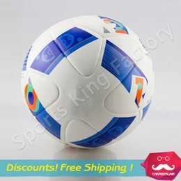 Wholesale Top quality European league match football European Cup soccer ball PU granules anti slip balls