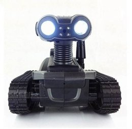 Wholesale F07235 Real time Video WIFI Remote Control Model Car Tank with Camera LT Controlled by Mobile Phone FreeShip
