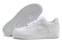Wholesale New Arrival Nike Air Force Shoes Low Cheap White Nike Air Force Shoes