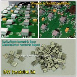 Wholesale Bitcoin Miner Antminer ASIC BTC GH s Rig DIY Aluminum Heatsink Cooler Cooling kit Fans amp Cooling