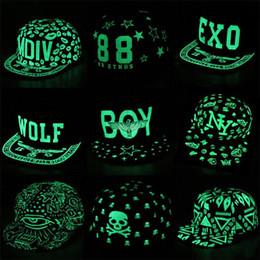 Lovers Hip Hop Fluorescent Snapback Caps Graffiti Baseball Cap Men Casquette Women Boy Hat Girl Snap Back Bone Aba Reta