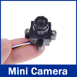 UK mini camera for helicopter - Audio Ultra Small 520TVL HD Size 0.008LUX 90 Degree Mini Wired CCTV Camera For RC FPV Quadcopter Helicopter