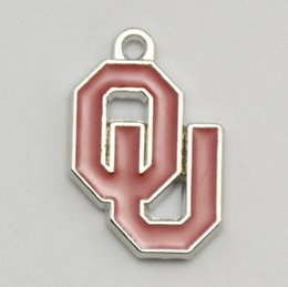 Wholesale Oklahoma University Sooners logo enamel charms