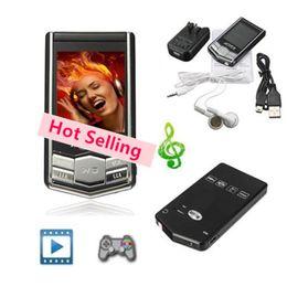 Promotion nouveaux écrans lcd Lecteur MP4 Lecteur MP3 Nouveau 8 Go 16 Go Slim écran LCD PMP Vidéo Media Fm Radio Player Freeship de goodmemory