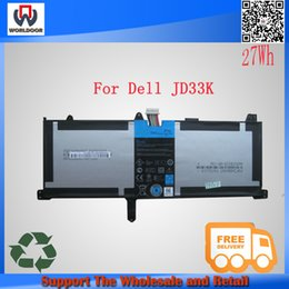 Wholesale 7 v Wh origina lrechargeable batteries JD33K battery for Dell XPS Series Tablet PC FP02G FP02G