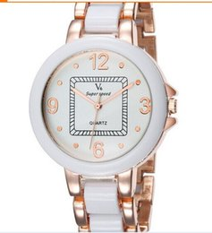 NUEVO V6 Casual Cuarzo Hombres / mujeres oro rosa RELOJ Relojes Reloj deportivo Dropship Reloj de melamina Horas de moda Reloj de vestir REGALO DE NAVIDAD