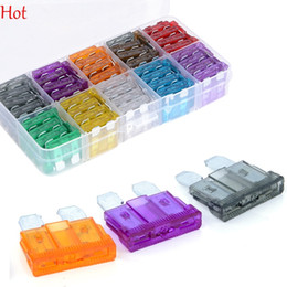 Wholesale 100Pcs MINI Blade Fuse Assortment Auto Car Motorcycle SUV FUSES Kit APM ATM A A A A A A A A A A Car Fuse Box