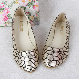 Spring Autumn Cheaper Leisure Fashion Crack With Shallow Mouth Women's Shoes Flat Shoes Pregnant Women Shoes