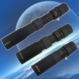 Wholesale Telescopio óptico plegable de la lente del óptico del telescopio monocular del zumbido de Nikula X25 que acampa que envía libremente