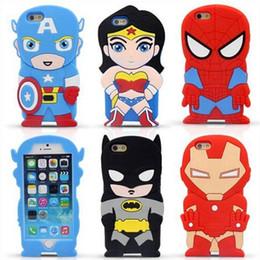 New The Avengers cell Phone case Superhero Phone case 3D Cartoon Phone case The Avengers cell Phone case Drop Resistance iphone case D83