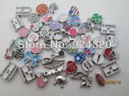 Wholesale 500pcs with 50 designs Floating Charm For Floating Locket,mixed styles Charms Cheap Charms Cheap Charms