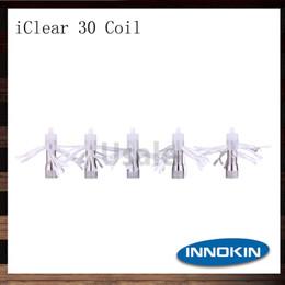 Innokin iClear 30 Coils Head 100% Original 1.5 1.8 2.1 ohm iClear 30 Atomizer Replacement Dual Coil Head 100% Original