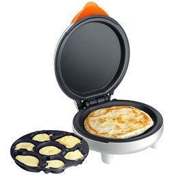 Wholesale 220V Cartoon Mini electric baking pan pancake cake maker home baked muffins automatic multifunction machine