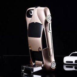 New 3D Sports Car Cell Phone Cover Case For iPhone 5 5S 4G Race Car Hard Case Back Cover Shell
