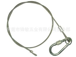 Wholesale Variety of electronic appliances with stainless steel wire rope cable rope hanging rope lanyard brass waterfall