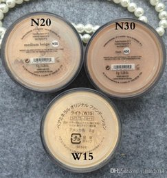 Wholesale 120PCS Makeup minerals Foundation Medium beige original N20 g NEW Click Lock Highest quality