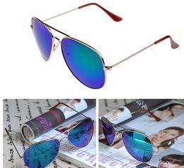 new free shipping 20PCS hot sale classic style sunglasses women and men modern beach sunglasses Multi-color sunglasses