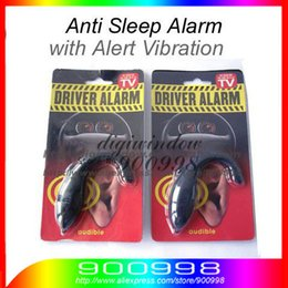 Wholesale Security Alarm For Laptops - HOT Sound Alert Anti Sleep Alarm For Drivers, Security Guards 2pcs lot Free Shipping