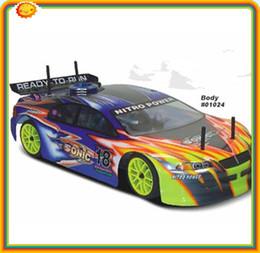 Acheter en ligne 4wd nouvelle voiture-Nouveau SONIC 1/10 RC Nitro Voiture sur route Racing 94102 4WD, huile rc voiture dhl libre