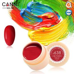 Wholesale X New Hot Sale Nail Art Design CANNI Factory Fashion Colors ml UV LED Paint Nail Gel CANNI Color Gel Varnish