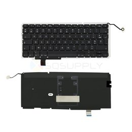 Wholesale Laptop French Keyboard Replacement for Apple Unibody Macbook Pro A1297 Early to Late Keyboard with Backlit Repair Parts