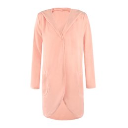 2017 autumn and winter European and American new large-size hoodie and high quality women's wear overcoat