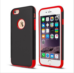 Caseology Mars Hybrid Rugged Shockproof Armor 2 in 1 Soft Hard Cover Case for iPhone 4S 5 5S 6 Plus iPhone6 6Plus iPhone5