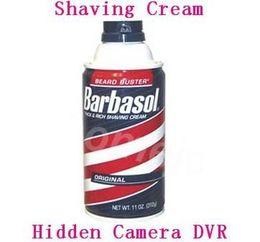 Wholesale Shaving Cream Hidden Camera P DVR Motion Detection Record GB